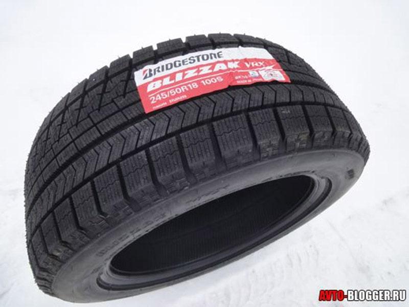 Bridgestone Blizzak VRX на снегу