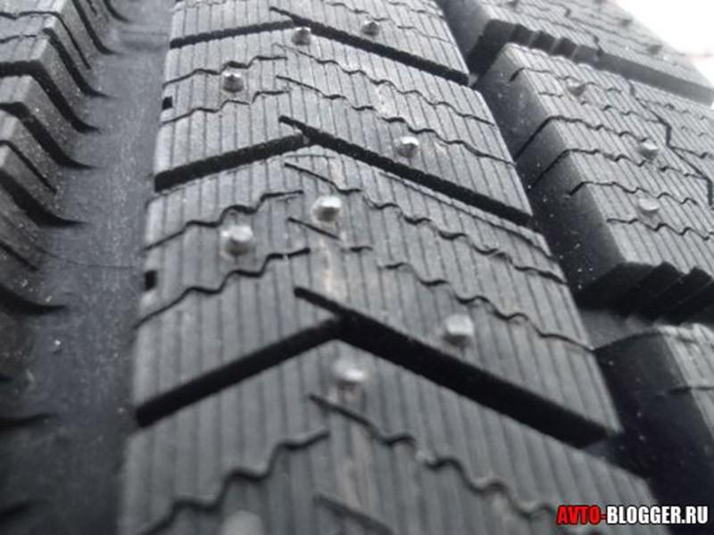 Протектор шины крупным планом