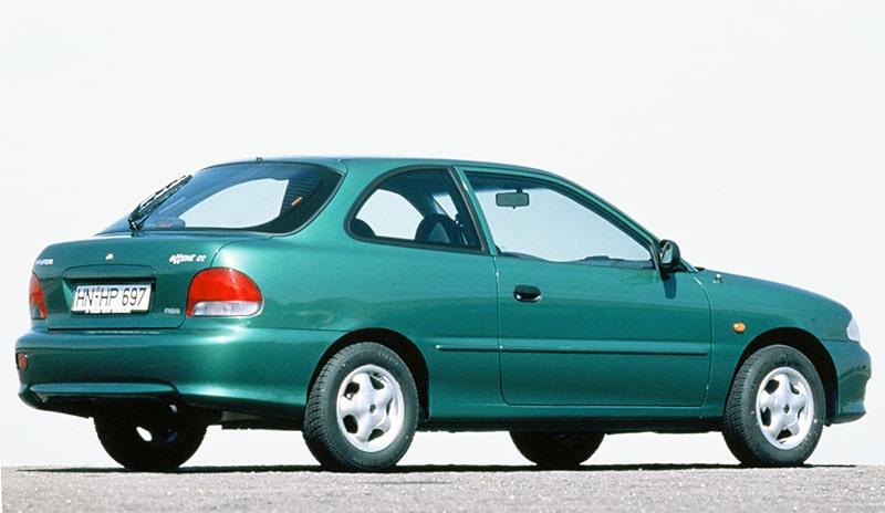 Первое поколение Hyundai Accent