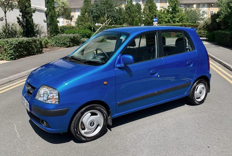 Hyundai Amica - так называется Atos в Великобритании